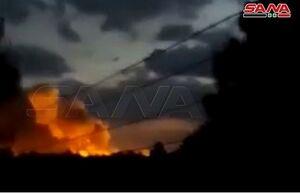 انفجار انبار تسلیحات