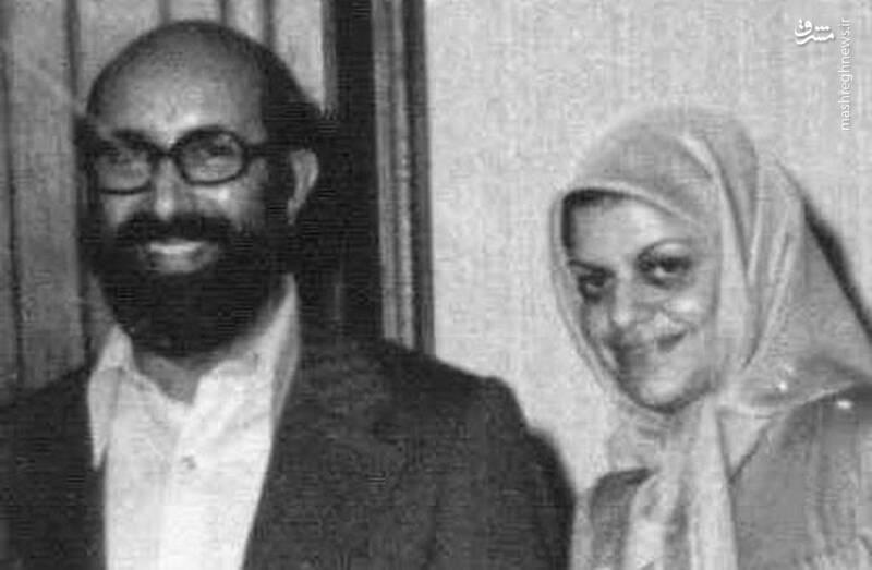 شهید دکتر مصطفی چمران و همسرش