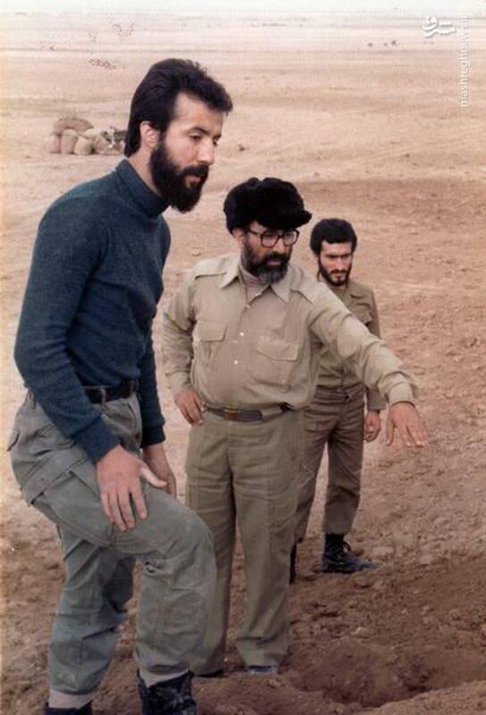 شهید دکتر مصطفی چمران و شهید ناصر فرج الله