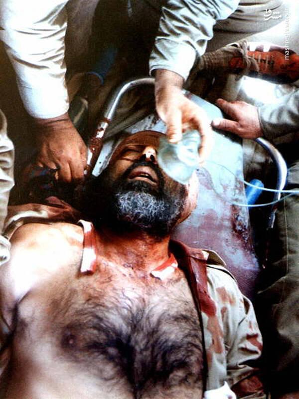 شهید دکتر مصطفی چمران در آخرین دقایق حیات دنیوی