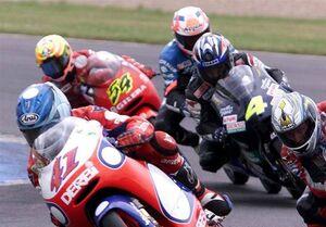 موتورسوار جوان انگلیسی در پیست مسابقه جان باخت