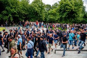 فیلم/ اعتراضات گسترده علیه قرنطینه در کانادا