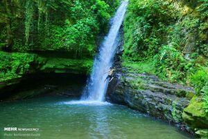 عکس/ آبشار زمرد گیلان
