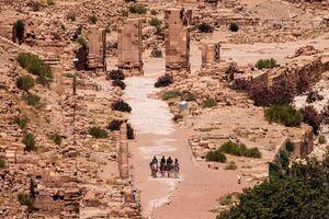 عکس/ بازگشایی شهر باستانی پت