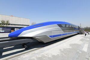 عکس/ قطار سریع السیر جدید چینی