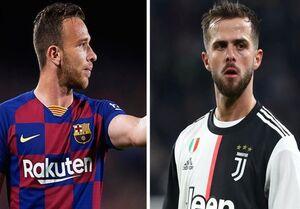 بارسلونا و یوونتوس برای معاوضه پیانیچ و آرتور به توافق رسیدند
