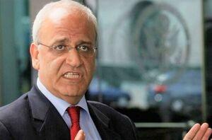 رئیس هیئت مذاکره کننده فلسطینی صائب عریقات
