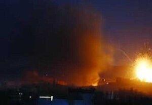 فعالان سعودی از وقوع انفجار شدید در شمال ریاض خبر دادند