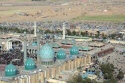 فیم/ اقامه نماز عید قربان در مسجد جمکران