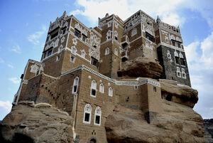 قصری چشم نواز بر بلندای صخره