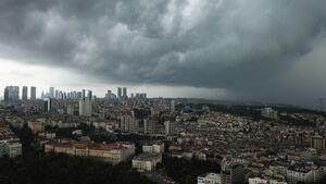 عکس/ طوفان مهیب در استانبول