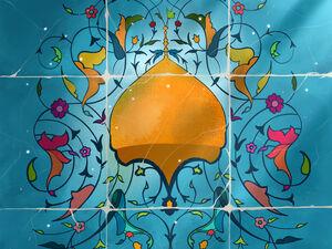 دستخط رهبر معظم انقلاب در دفتر یادبود حرم حضرت معصومه (س) منتشر شد - کراپشده
