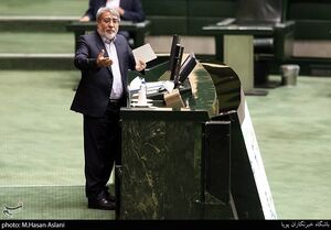 عکس/ جلسه علنی مجلس باحضور وزیر کشور