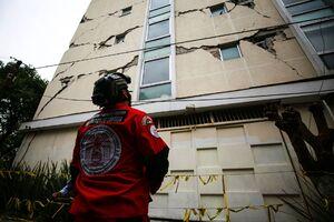 اولین تصاویر از زلزله ۷.۴ ریشتری در مکزیک