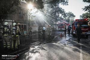 انفجار در کارگاه شارژ سیلندرهای گاز