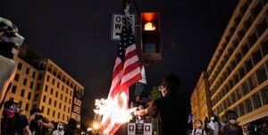 ترامپ خواستار اقدام کنگره علیه معترضان شد