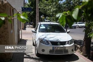 پیادهروهای شیراز در تسخیر خودروها