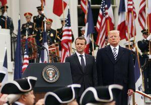 ترامپ و مکرون - نمایه