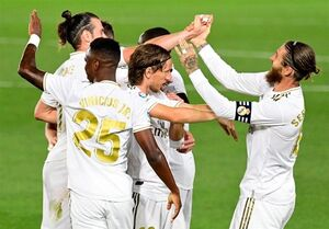 صدرنشینی مجدد رئال مادرید در شب تداوم گلزنی راموس