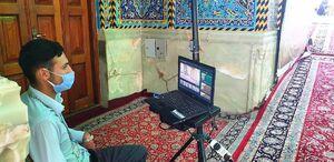 عکس/ تب سنجی در حرم امام حسین(ع)