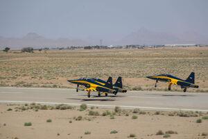 تصاویری از 3 فروند جنگنده کوثر که صبح امروز تحویل نهاجا شد