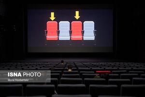 عکس/ بازگشایی سینماها پس از چندماه تعطیلی