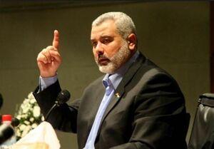 هنیه: توافق امارات، خنجری از پشت به ملت فلسطین است