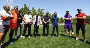تقدیر از علی کریمی در باشگاه پرسپولیس