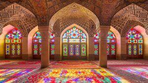 عکس/ زیباترین بناهای شیشه رنگی جهان