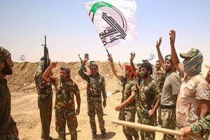 ضرب شست حشدالشعبی به آمریکا و مزدورانش در بغداد