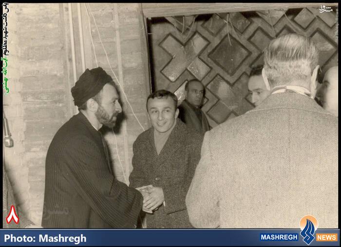 شهید آیت الله دکتر بهشتی، آلمان - مرکز اسلامی «هامبورگ»