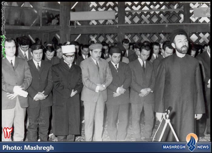شهید آیت الله دکتر بهشتی-آلمان - مرکز اسلامی «هامبورگ»