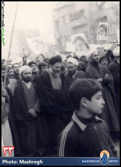 حضور در متن مبارزات مردمی-1357