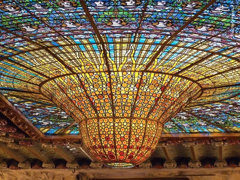 سالن کنسرت در بارسلونا