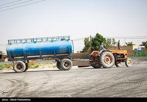 قصه پرغصه بیآبی در فاصله ۵۰ متری رود کارون