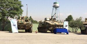 رونمایی از چند دستاورد دفاعی سپاه/ از نفربر آبی ـ خاکی مکران تا تیربار ثعبان + عکس