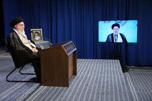 ارتباط تصویری رهبرانقلاب با همایش سراسری قوه قضائیه