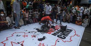 تحریم ورود کالاهای آمریکایی تولید چین به هند