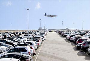 عکس/ پارکینگ فرودگاه امام قبل و بعد از کرونا
