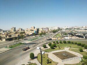 نجف اشرف پس از برقراری منع آمد و شد +عکس