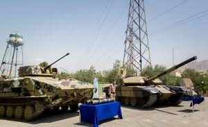 تحول بزرگ تانکهای T-۷۲ سپاه با نصب سامانههای رزم شبانه و اخلالگر فروسرخ/ برادر «کرار» مجهز به موشک هدایت لیزری شد+عکس