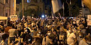 تظاهرات چند هزار نفری علیه فساد نتانیاهو +عکس
