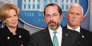 وزیر بهداشت آمریکا: زمان برای کنترل کرونا رو به پایان است