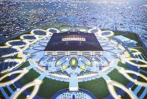 فیلم/ نمای داخلی استادیوم AL-bayt قطر