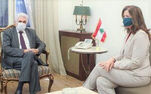 حضور سفیر آمریکا در وزارت خارجه لبنان در پی احضار وی