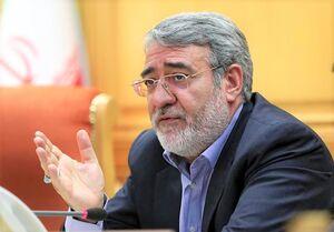 وزیر کشور از نظارت جدی بر تولید کالا خبر داد