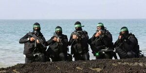 گزارش رسانه صهیونیستی از توانایی کماندوهای دریایی گردانهای القسام