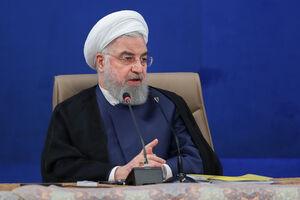 فیلم/ روحانی: در کشور شاهد مشکل  آنچنانی نیستیم