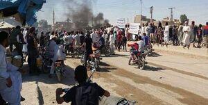 تظاهرات در «دیر الزور» سوریه علیه شبه نظامیان کُرد تحت حمایت آمریکا