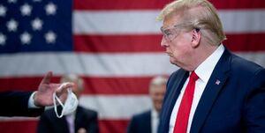 دعوای ترامپ با پوشیدن ماسک ادامه دارد